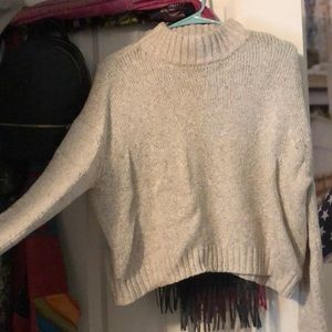 AE MOCK NECK SWEATER